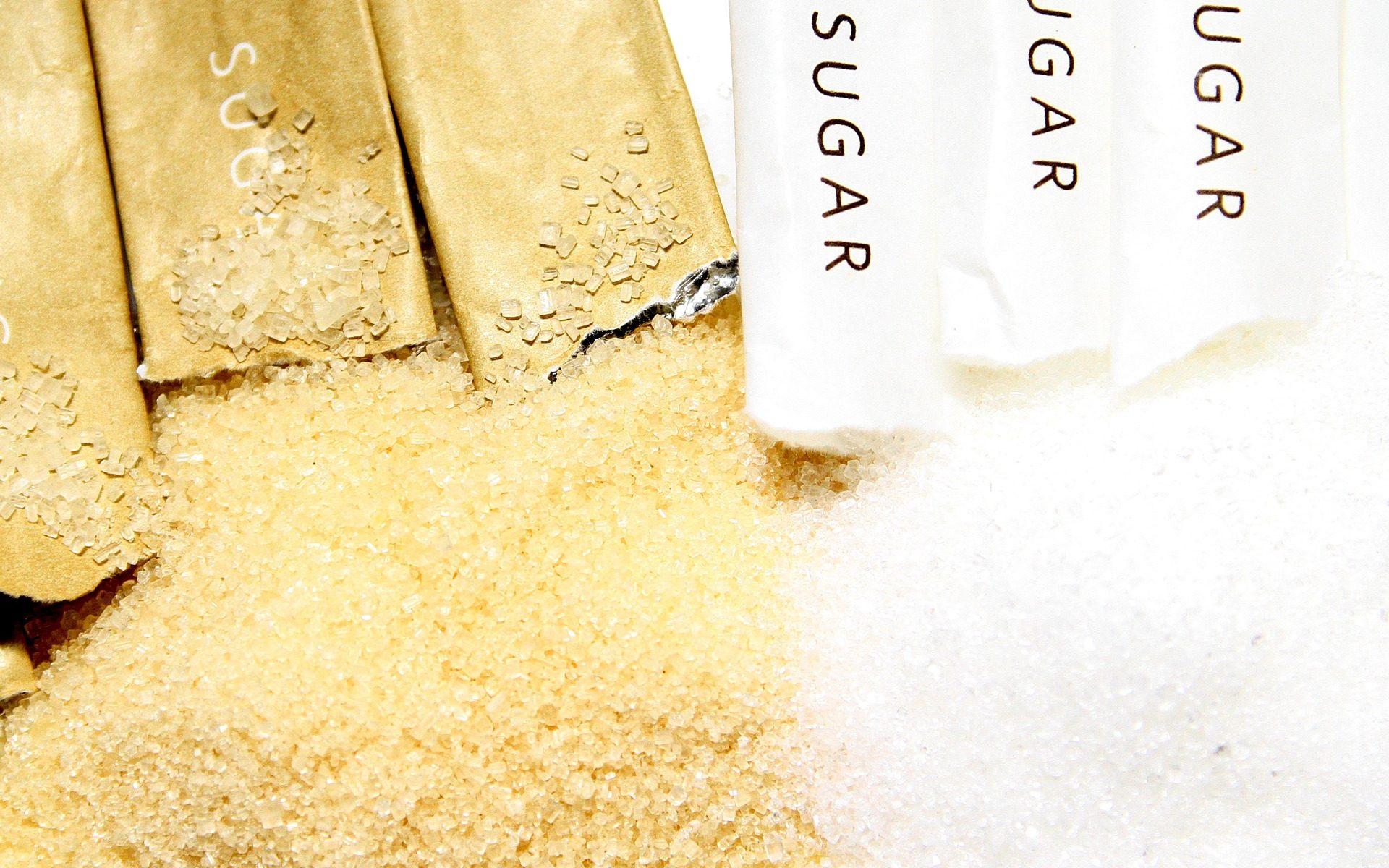 zucchero raffinato o zucchero di canna